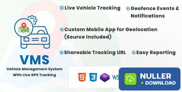 Vehicle Management System With Live GPS Tracking v3.1