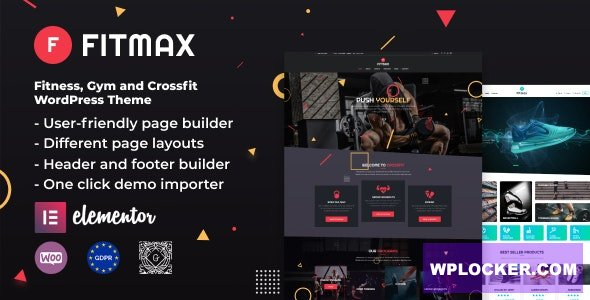 Fitmax v1.2.1 - Gym and Fitness WordPress Theme