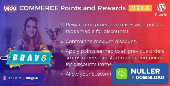 Bravo v2.1.3 - WooCommerce Points and Rewards