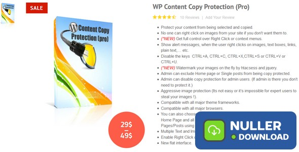 WP Content Copy Protection Pro v9.5