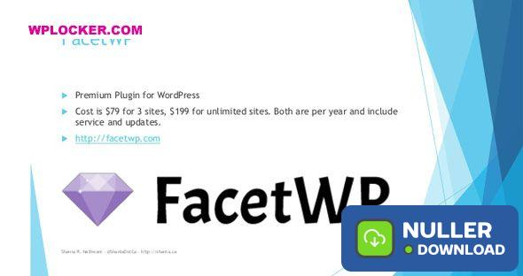 FacetWP v3.5.9 + Addons