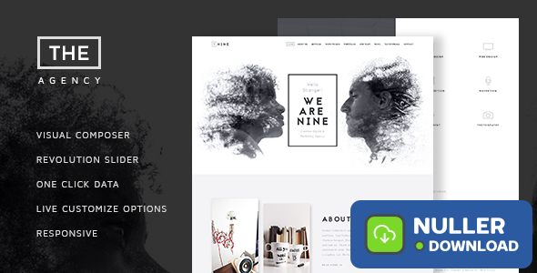 The Agency v1.5 - Creative One Page Agency Theme
