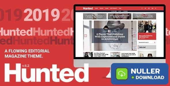 Hunted v7.1 - A Flowing Editorial Magazine Theme