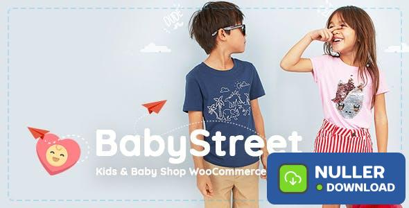 BabyStreet v1.3.2 - WooCommerce Theme for Kids Stores and Baby Shops Clothes and Toys