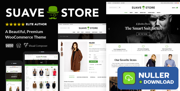 Suave v1.9.8 - Multi-Purpose WooCommerce Theme