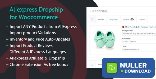 Aliexpress Dropship for Woocommerce v1.3.7