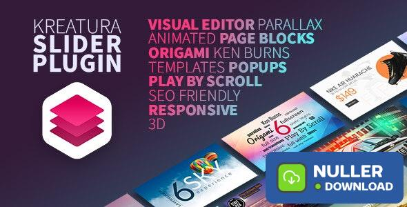 Kreatura v6.11.2 - Slider Plugin for WordPress