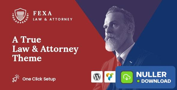 Fexa v1.0.1 - Lawyer & Attorney WordPress Theme