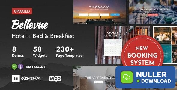 Bellevue v3.2.9 - Hotel + Bed and Breakfast Booking Calendar Theme