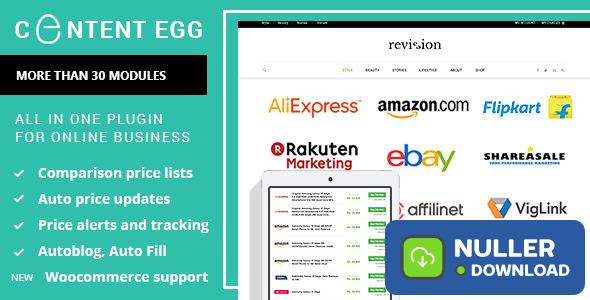 Content Egg v6.2.5 - all in one plugin for Affiliate