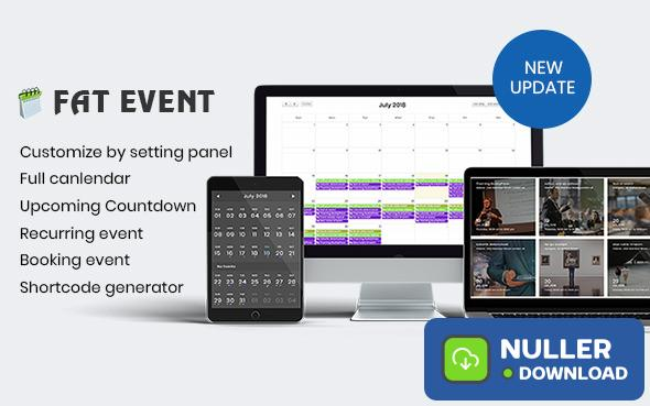 FAT Event v3.7 - WordPress Event and Calendar Booking