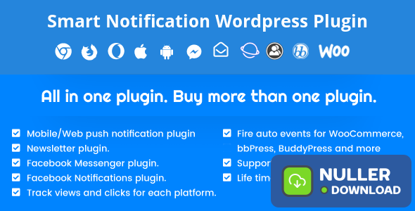 Smart Notification Wordpress Plugin v9.21