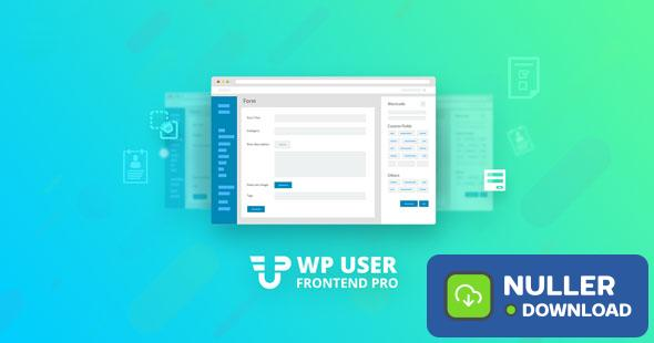 WP User Frontend Pro Business v3.1.12 - Ultimate Frontend Solution For WordPress