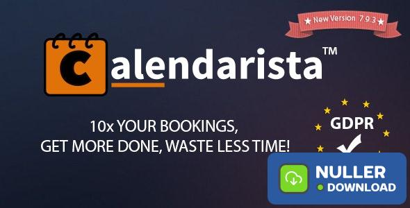 Calendarista Premium v9.2.7 - WP Appointment Booking Plugin and Schedule System