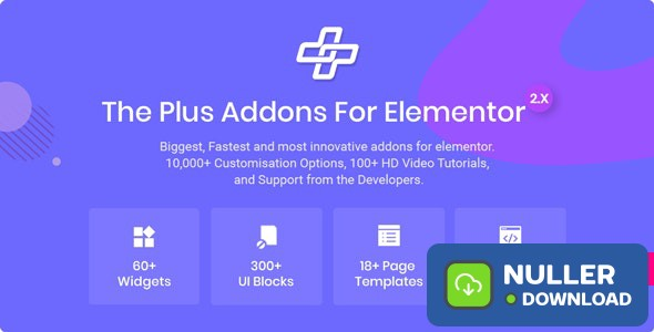 The Plus v3.4.0 - Addon for Elementor Page Builder WordPress Plugin