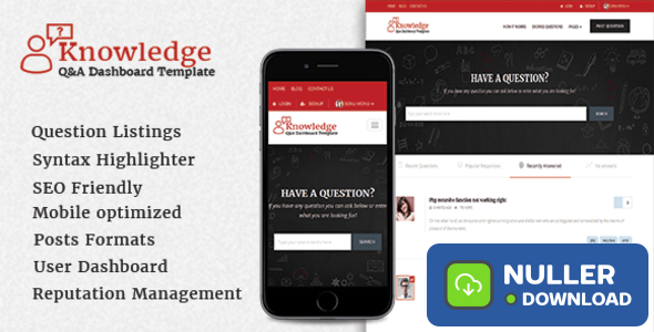 InfoCenter v1.2.5 - Knowledge Base and Q/A Theme