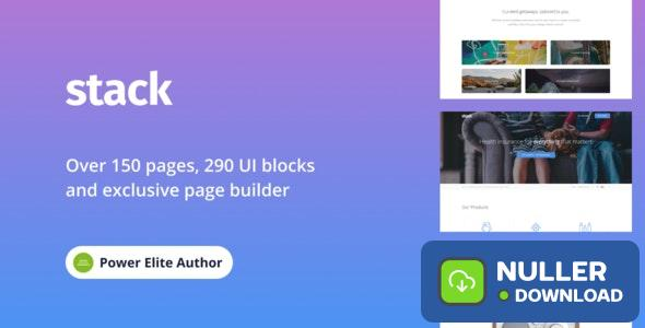 Stack v10.5.19 - Multi-Purpose Theme with Variant Page Builder