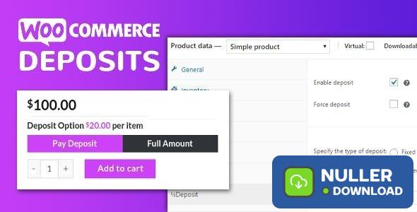 WooCommerce Deposits v2.5.20 - Partial Payments Plugin