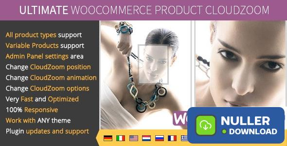 Ultimate WooCommerce CloudZoom for Product Images v1.0