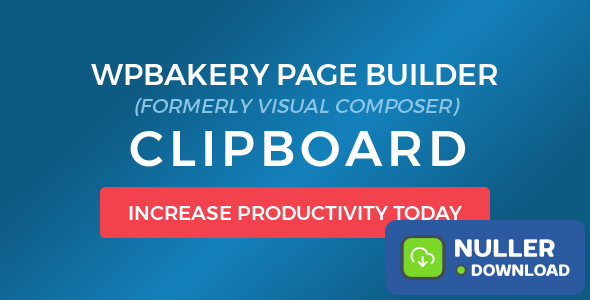 WPBakery Page Builder (Visual Composer) Clipboard v4.5.7