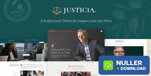 Justicia v1.3.0 - Lawyer and Law Firm Theme