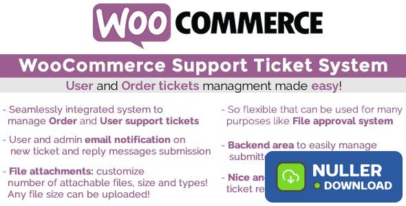 WooCommerce Support Ticket System v1.2.6
