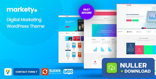 Markety v1.7 - SEO and Digital Marketing WordPress Theme