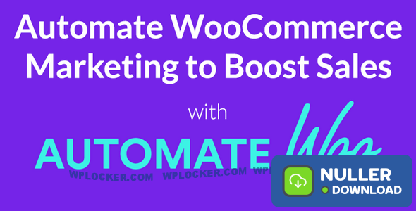 AutomateWoo v4.9.5 - Marketing Automation for WooCommerce