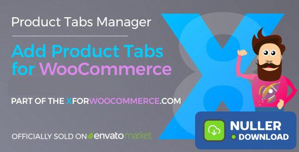 Add Product Tabs for WooCommerce v1.1.5