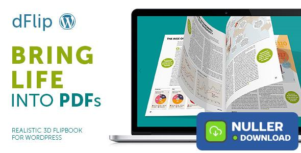 dFlip v1.56.6 - PDF FlipBook WordPress Plugin