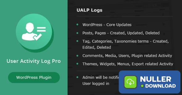 User Activity Log PRO for WordPress v1.6.1
