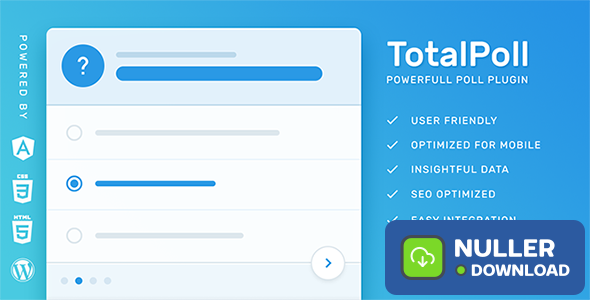 TotalPoll Pro v4.2.0 - WordPress Poll Plugin