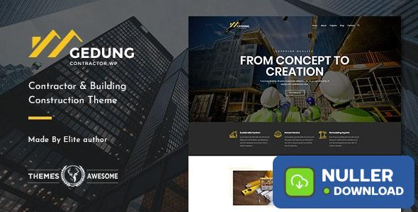 Gedung v1.3 - Contractor & Building Construction Theme