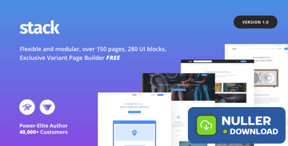 Stack v10.5.2 - Multi-Purpose Theme with Variant Page Builder