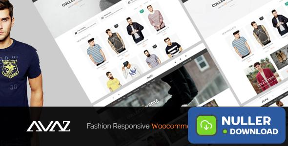 Avaz v2.5 - Fashion Responsive WooCommerce Theme