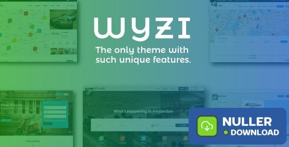WYZI v2.4.2 - Social Business Finder Directory Theme