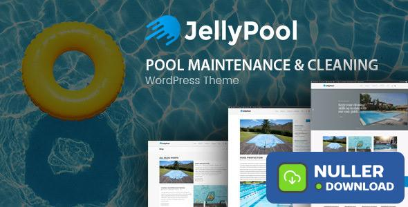 JellyPool v1.2.2 - Pool Maintenance & Cleaning Theme