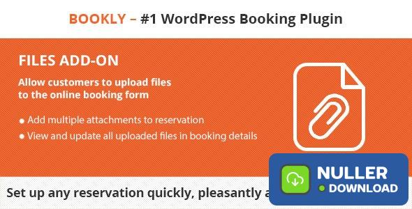 Bookly Files (Add-on) v1.9