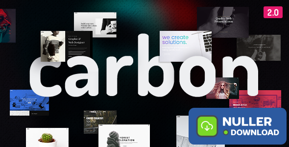 Carbon v2.7 - Clean Minimal Multipurpose Theme