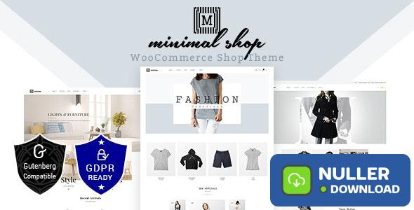 Minimal Shop v2.0 - WooCommerce Theme