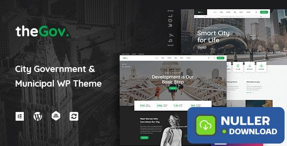 TheGov v1.1.0 - Municipal and Government WordPress Theme