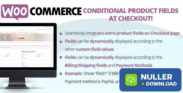 Conditional Product Fields at Checkout v3.3