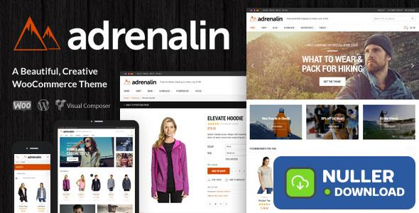 Adrenalin v2.0.8 - Multi-Purpose WooCommerce Theme
