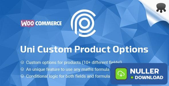 Uni CPO v4.6.14 - WooCommerce Options and Price Calculation Formulas
