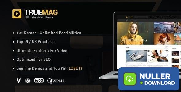 True Mag v4.3.5 - Wordpress Theme for Video and Magazine