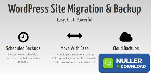 Duplicator Pro v4.0.0 - WordPress Site Migration & BackUp