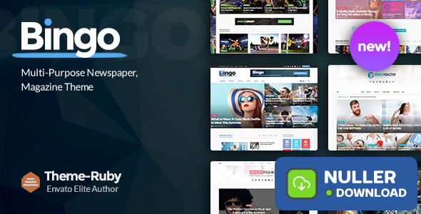 Bingo v2.7 - Multi-Purpose Newspaper & Magazine Theme
