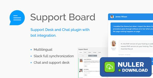 Support Board v1.3.0 - Chat And Help Desk