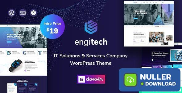 Engitech v1.0.5 - IT Solutions & Services WordPress Theme