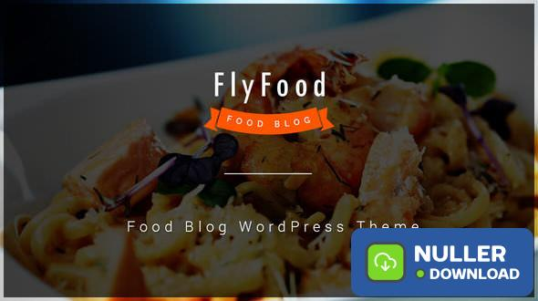 FlyFood v1.0.5 - Catering and Food WordPress Theme